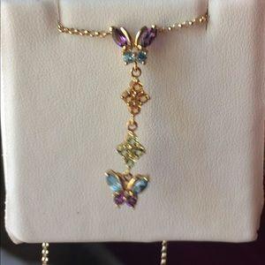 Multi color genuine gem